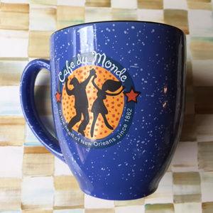 Cafe du Monde Mug in Blue